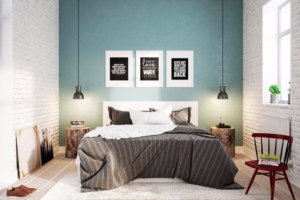 7 ide brilian untuk desain kamar tidur sempit yang nyaman for Dekor kamar tidur hotel