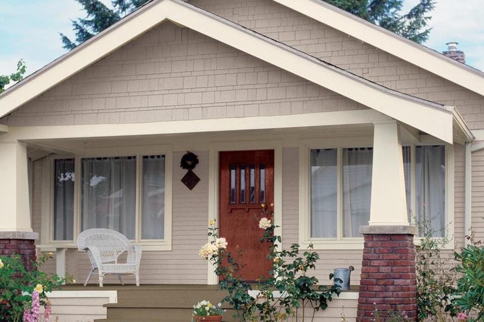 10 Contoh Warna Cat  Dinding Luar Rumah  yang Cerah  Terfavorit
