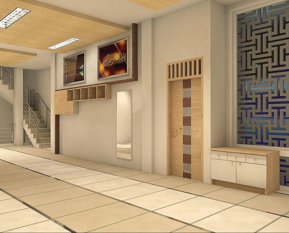12 Desain Mushola Minimalis Dalam Rumah