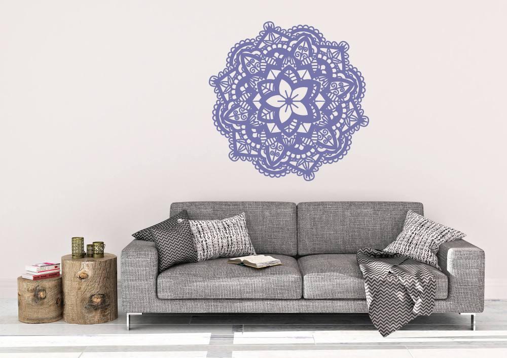 Stiker Dinding Mandala Sebagai Dekorasi Rumah