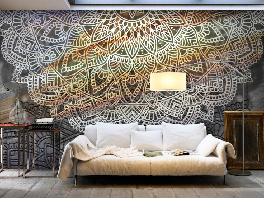Mural Mandala Dekorasi Rumah