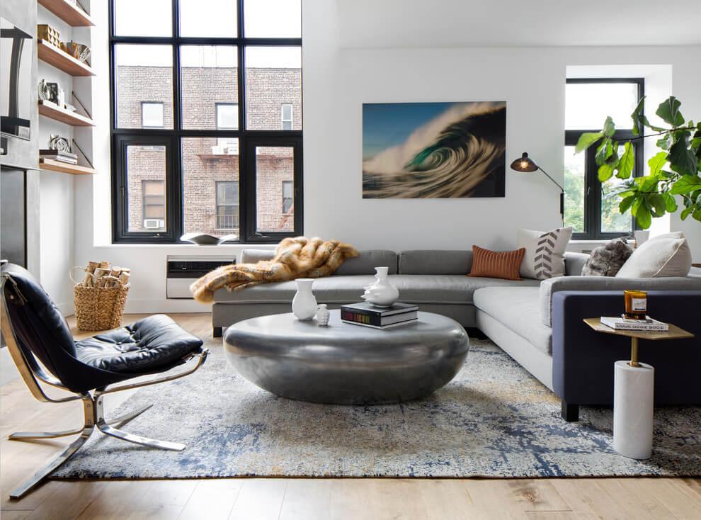 Desain ruang tamu minimalis ukuran 3x3 karya Decor Aid