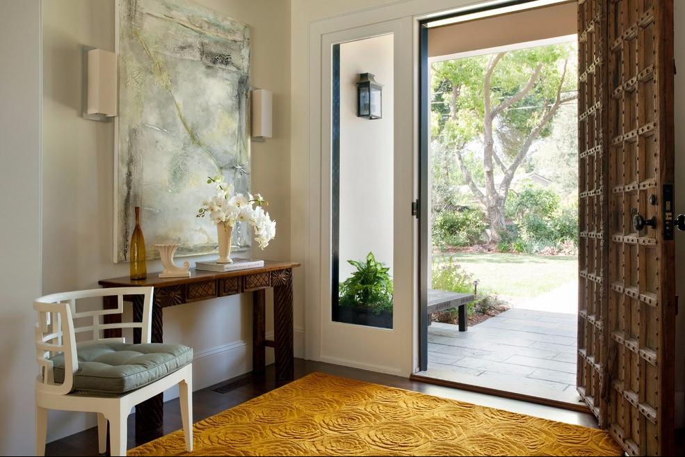Foyer artistik Pada Rumah di Los Altos