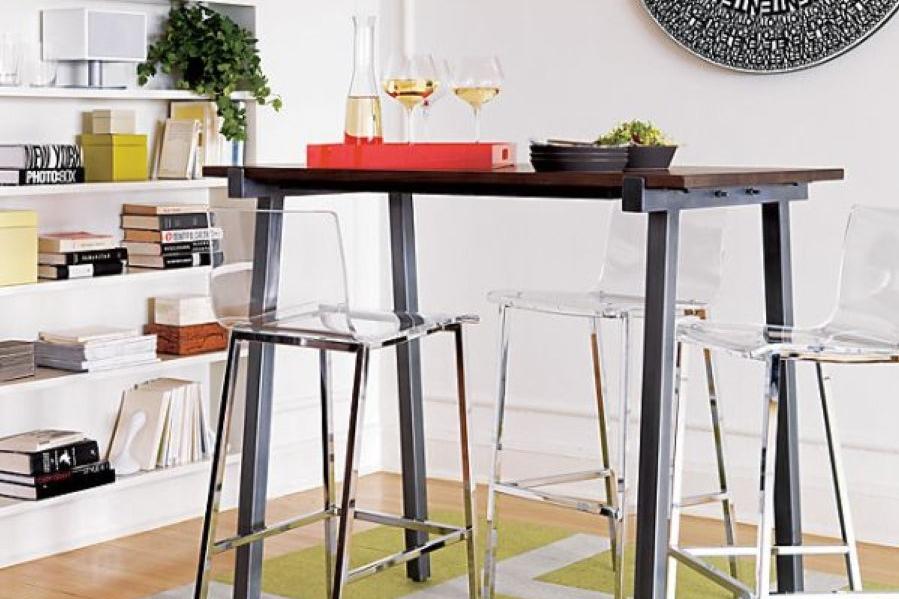 Kursi Tinggi untuk Meja Makan Bar Rumah Kecil Sederhana