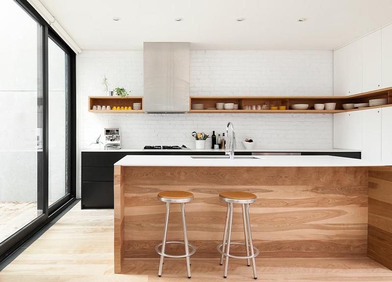 Memilih perpaduan warna yang tepat Dapur Minimalis