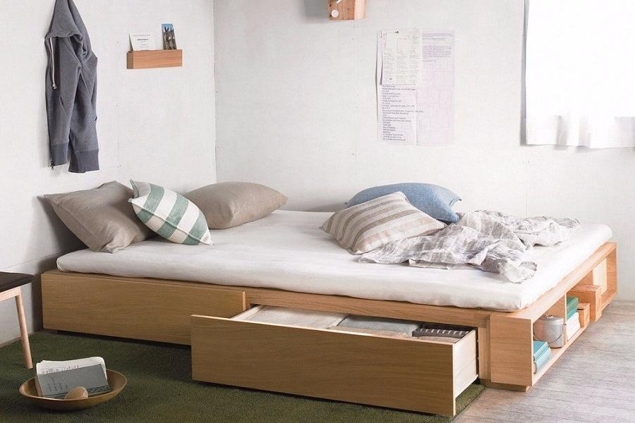 Tempat Tidur Lipat Storage