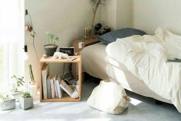 Desain kamar minimalis dengan mebel minimalis