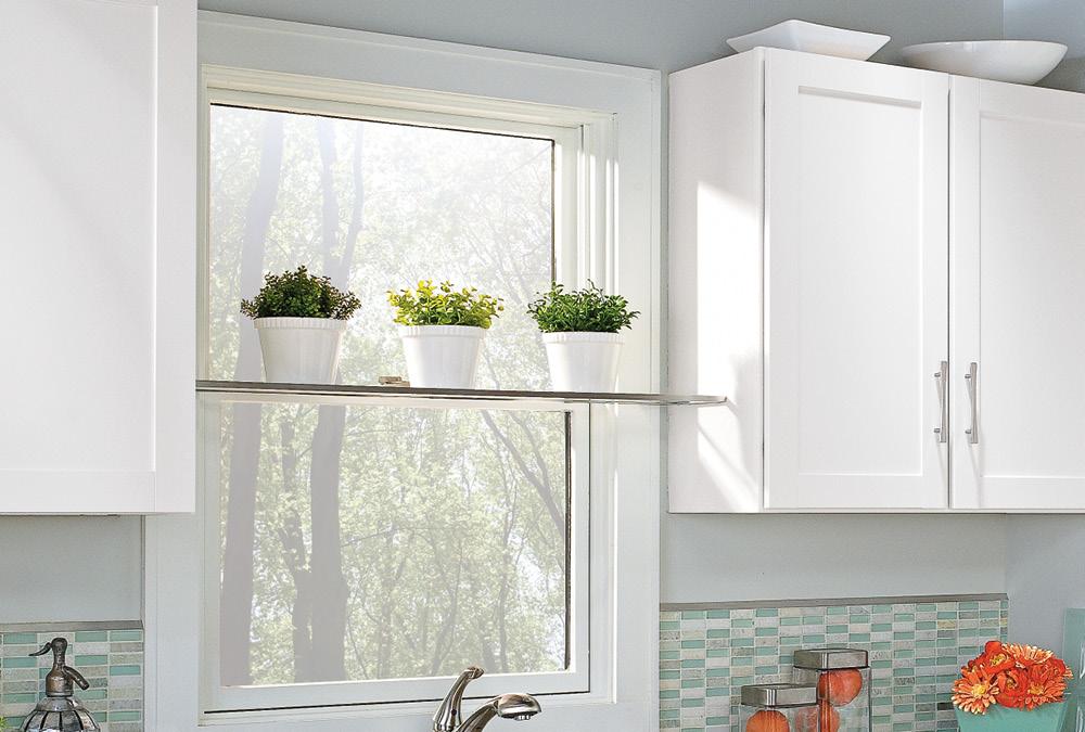 Desain Dapur Kecil Menghadap Ruang Terbuka