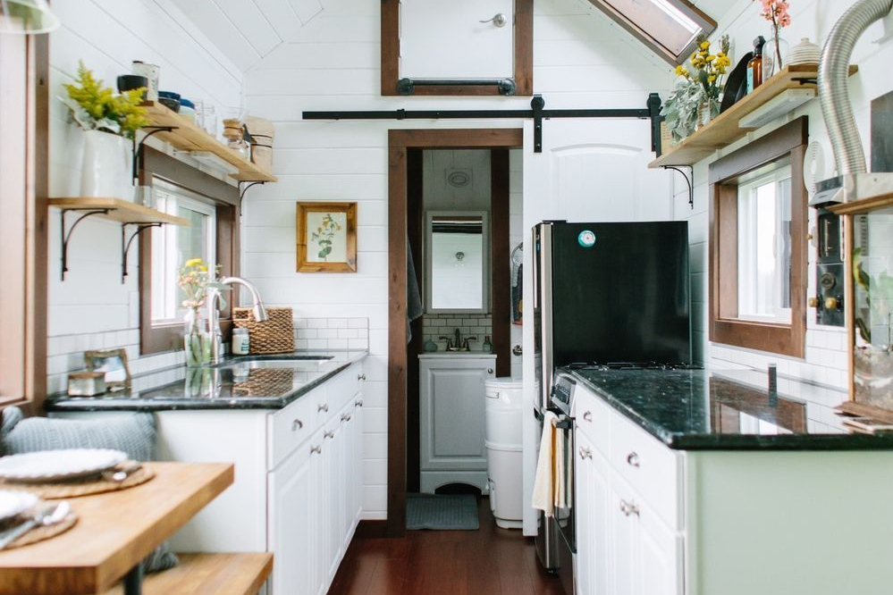 Desain Rumah Kayu Tiny Heirloom