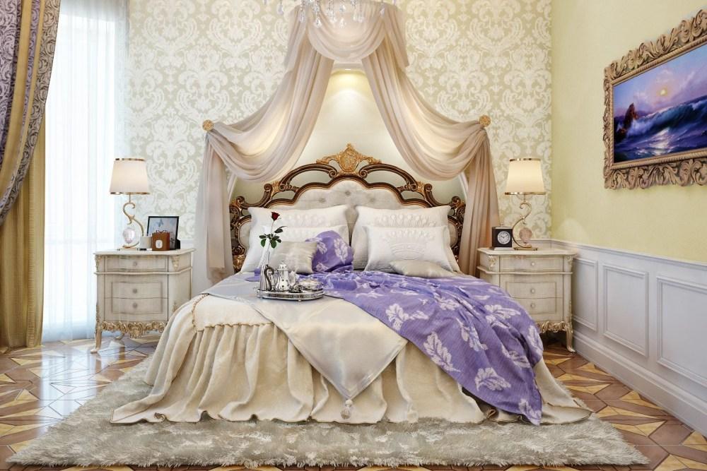 Desain interior kamar Victorian
