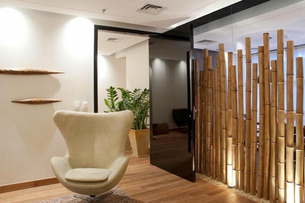 Pembatas Ruangan Bambu