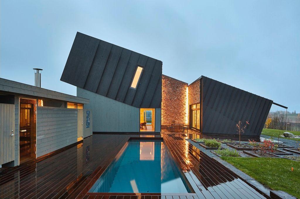 7 Desain Rumah Unik Modern Dunia Gambar
