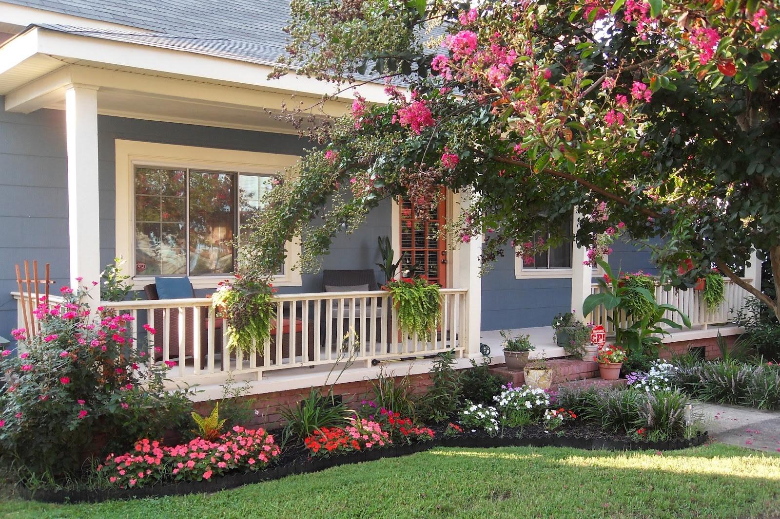 410 Koleksi Desain Taman Bunga Depan Rumah HD Terbaik