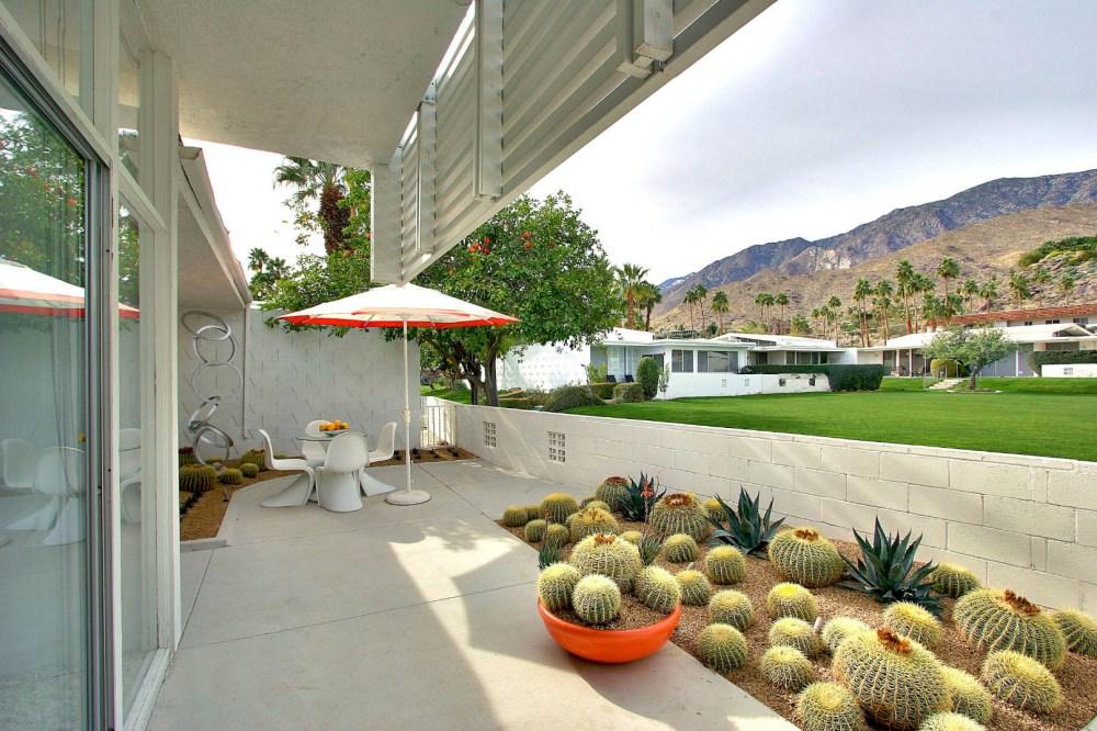 Taman Rumah Minimalis Kaktus
