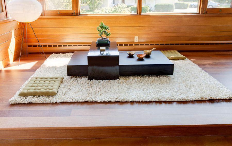 Ruang Santai Rumah Jepang