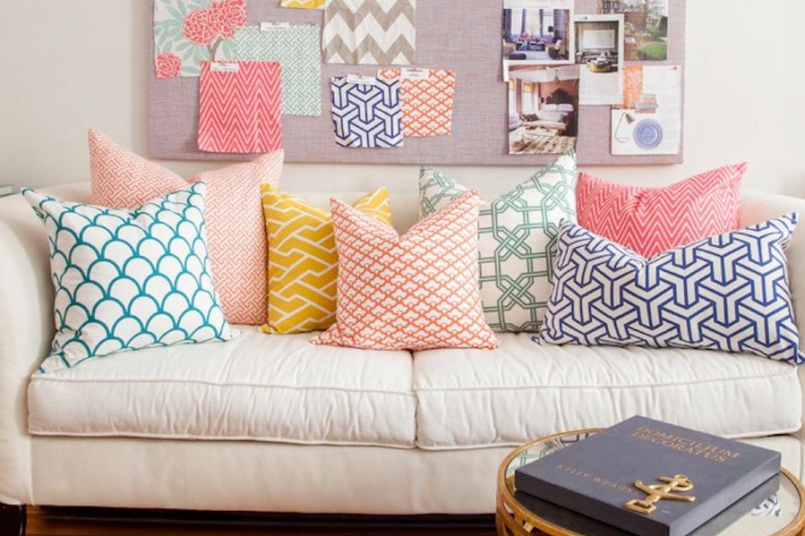 rumah sederhana dan elegan bantal dekorasi