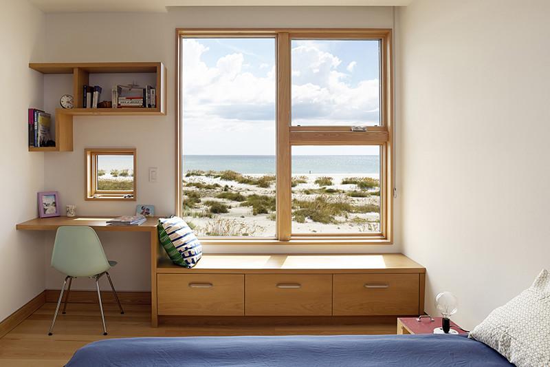 rumah sederhana dan elegan jendela