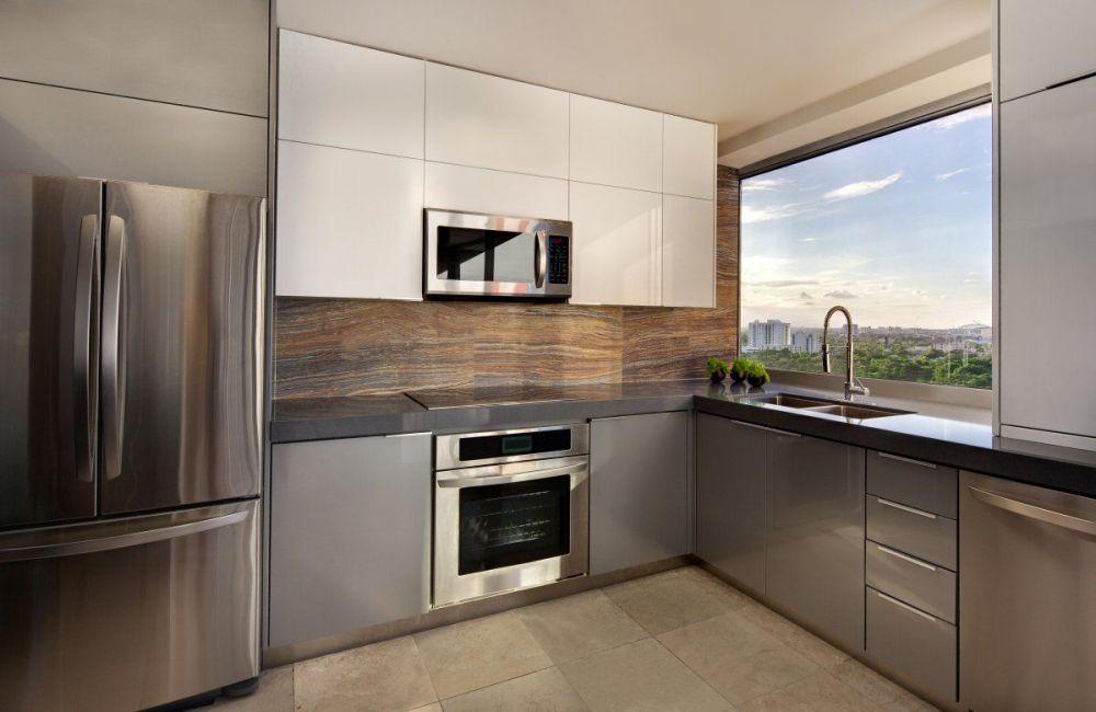 visualisasi desain kitchen set