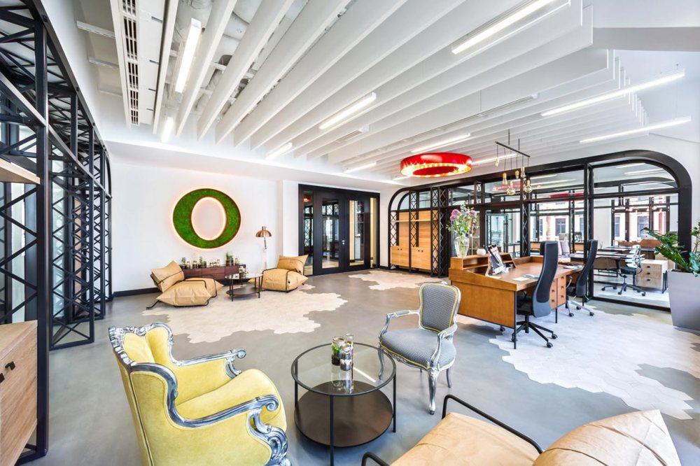 Desain interior kantor Opera Software