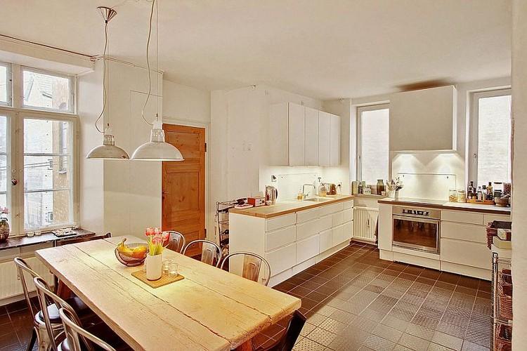 Desain Dapur Minimalis Bentuk L Tradisional