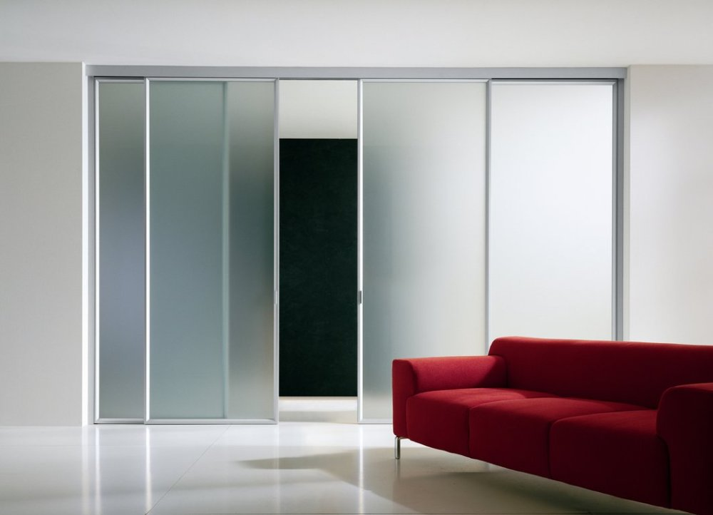 Pintu Geser Kaca Buram
