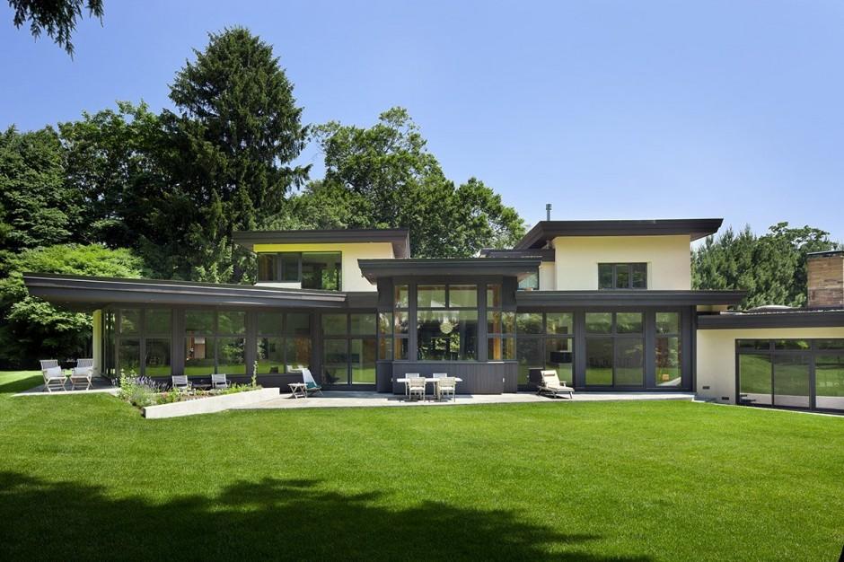 Rumah Ramah Lingkungan Ruang Terbuka