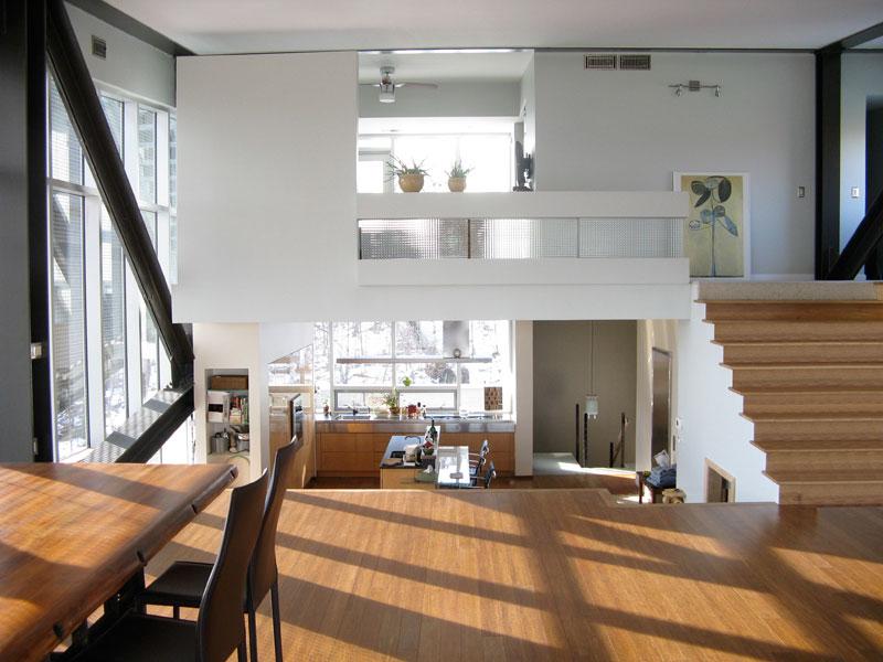 rumah sederhana split level