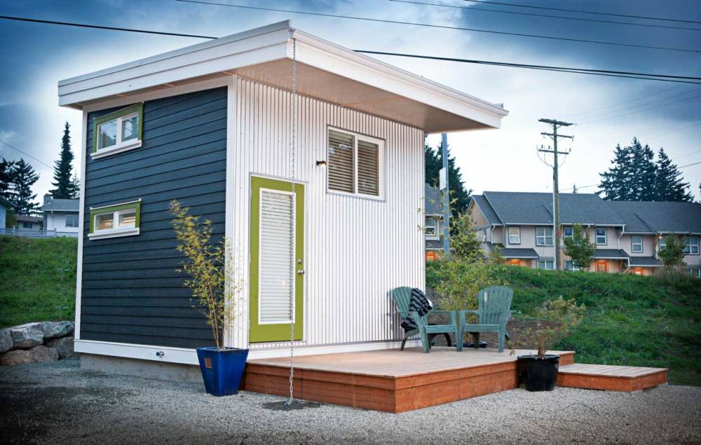 Rumah Terkecil Di dunia Twelve Cubed Mini House