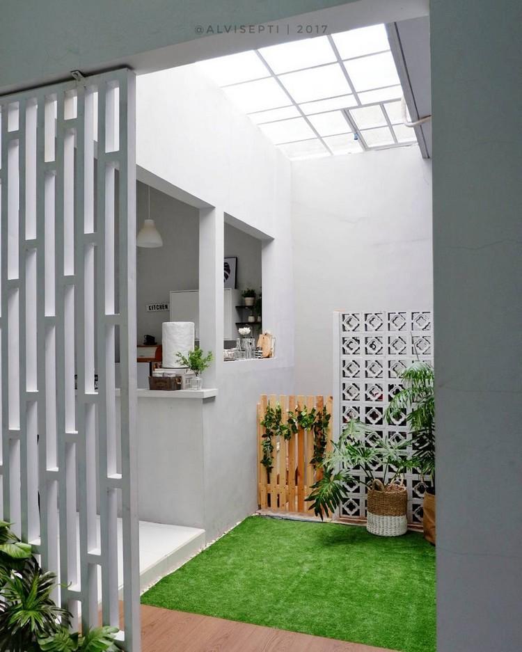Yuk, Intip Cantiknya Rumah Kecil Minimalis Bertema Monokrom!