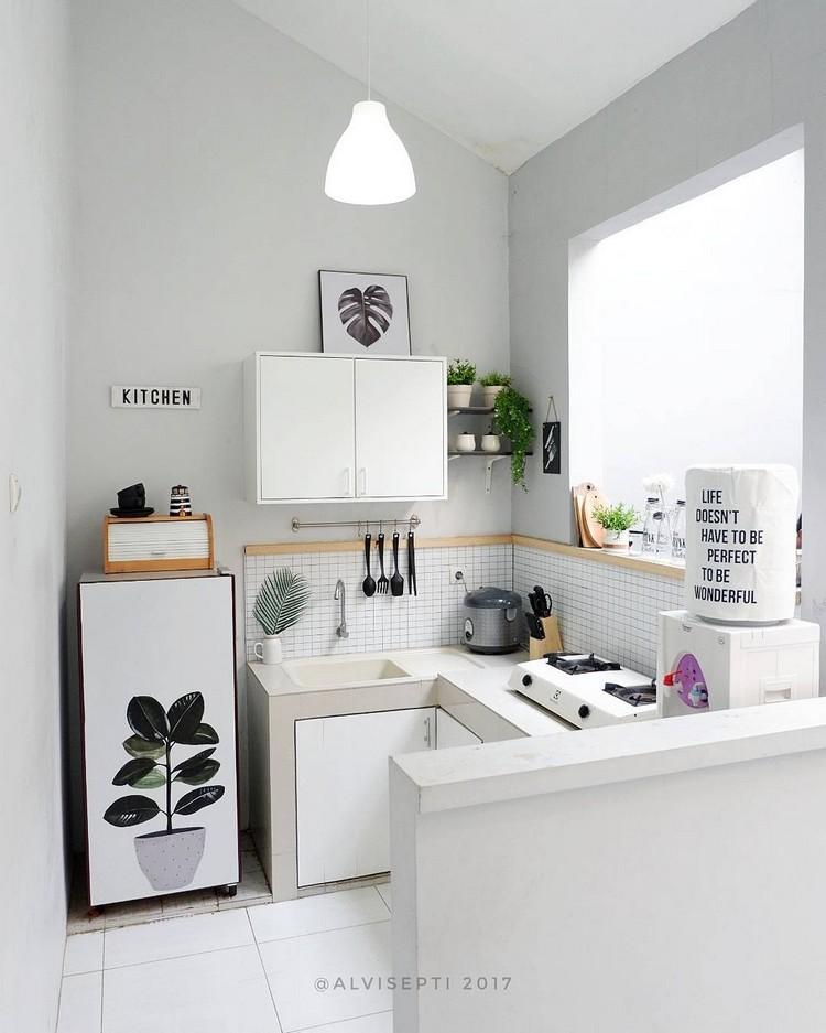 Yuk, Intip Cantiknya Rumah Kecil Minimalis Bertema Monokrom