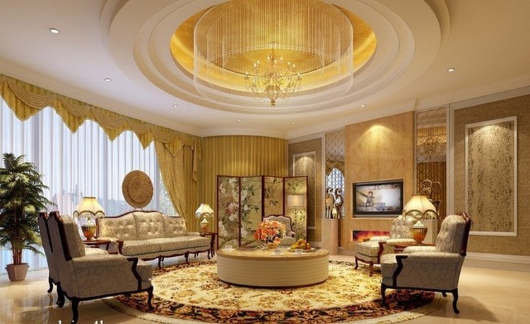 Rumah gaya Eropa dihiasi banyak elemen dekorasi