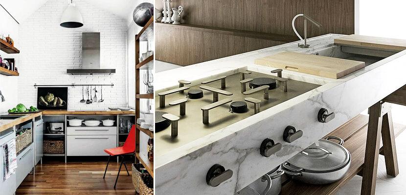 free standing kabinet desain kitchen set