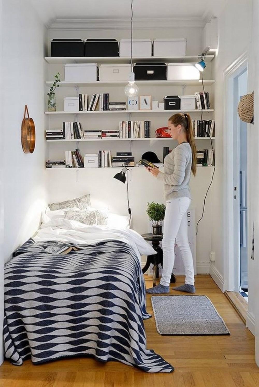 Dekorasi Serba Putih untuk Seluruh Ruangan Kamar Tidur