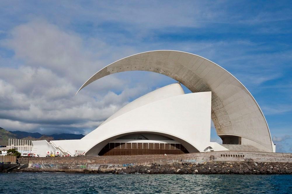 Arsitektur Kontemporer The Auditorio de Tenerife