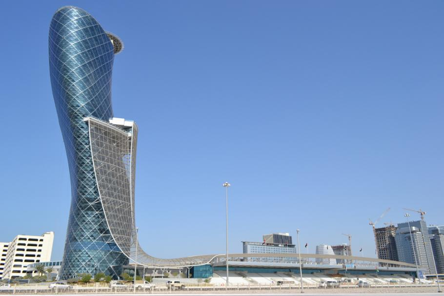 Arsitektur Kontemporer The Capital Gate Tower