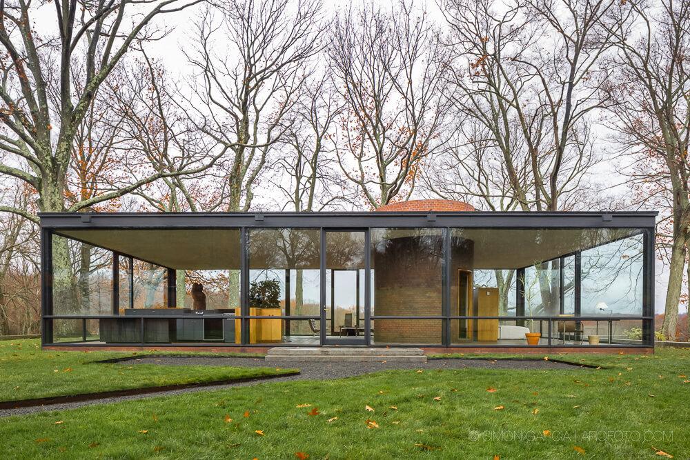 Arsitektur Modern Glass House