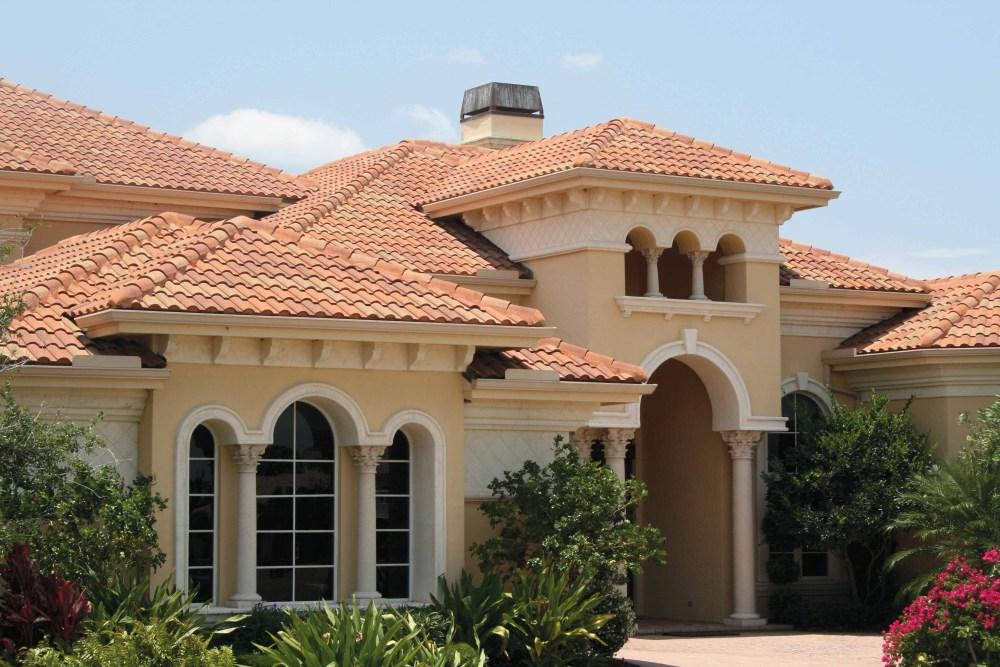 Arsitektur Rumah Mediterania Atap