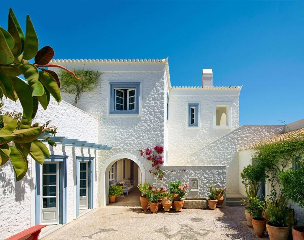 Arsitektur Rumah Mediterania Yunani