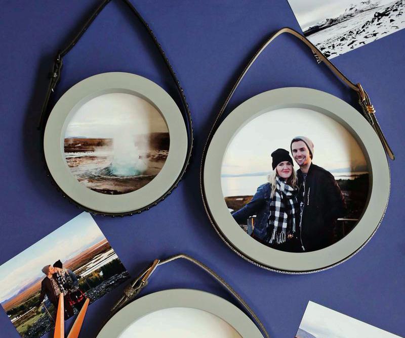 membuat bingkai foto sendiri dengan cermin