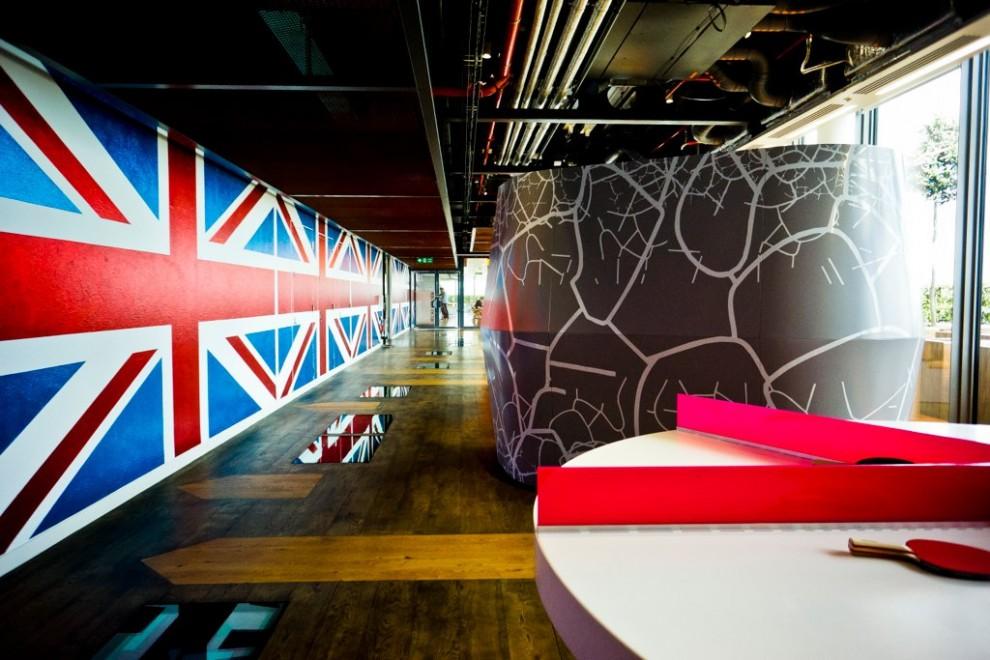 Desain Kantor Google London