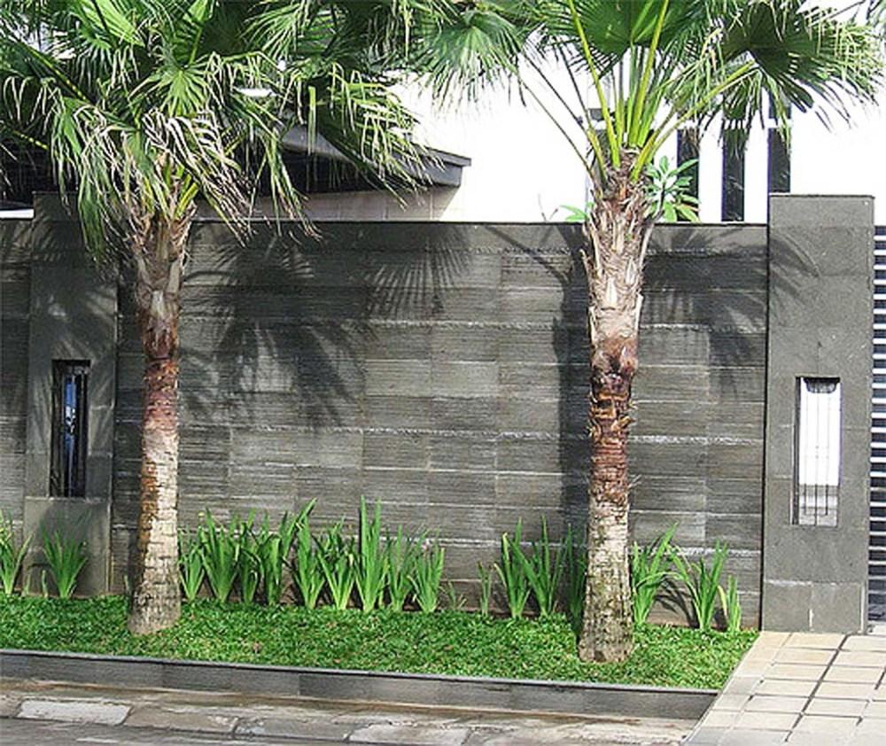 Arsitektur Rumah: 5 Ide Pagar Batu Alam Keren Untuk Rumah Masa Kini