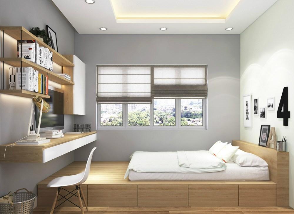 Sitem teknologi yang canggih Interior Apartemen Minimalis