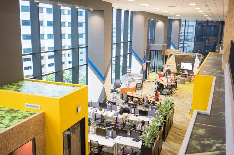 Desain Kantor Google Singapura