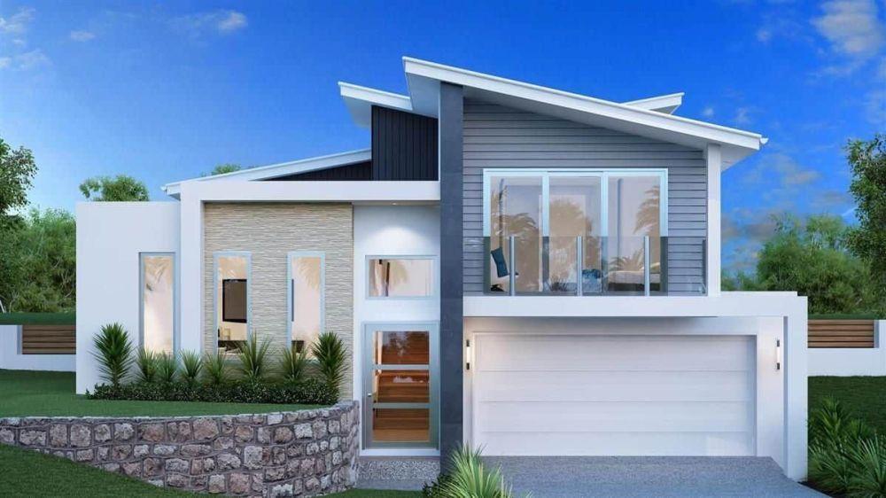 Rumah Minimalis Terbaru Split Level
