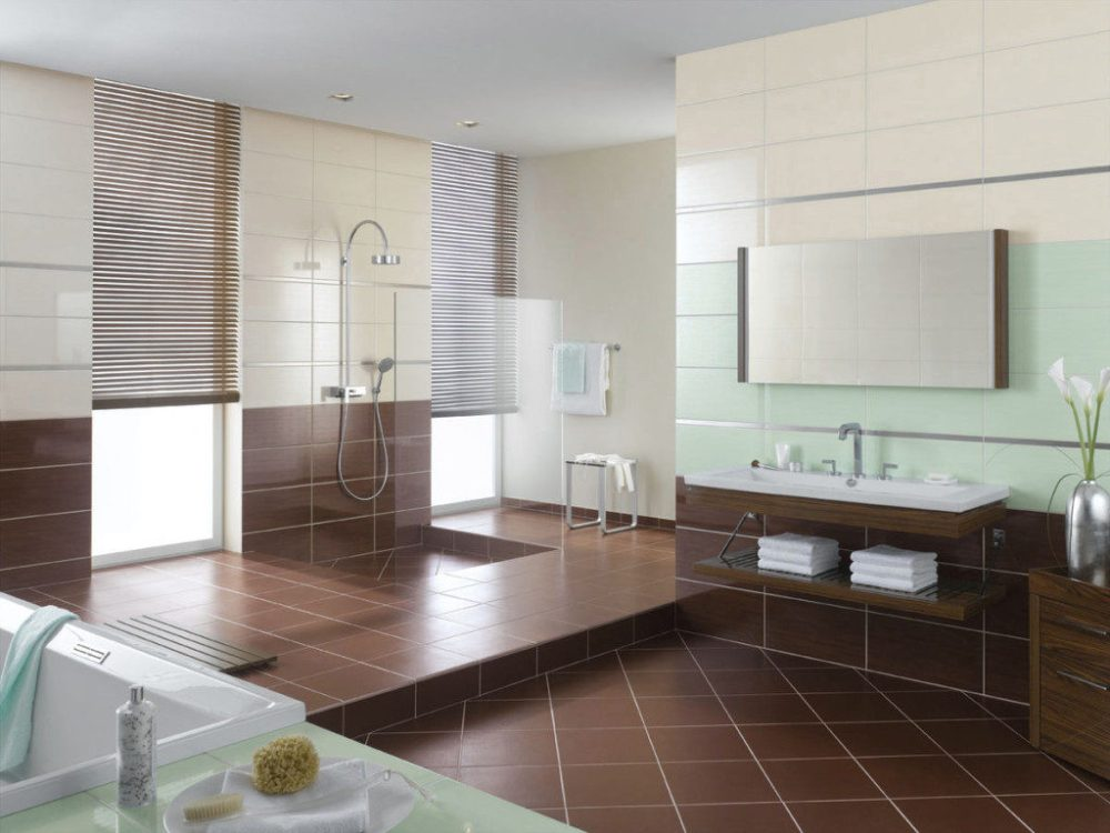 lantai kamar mandi diamond tiles