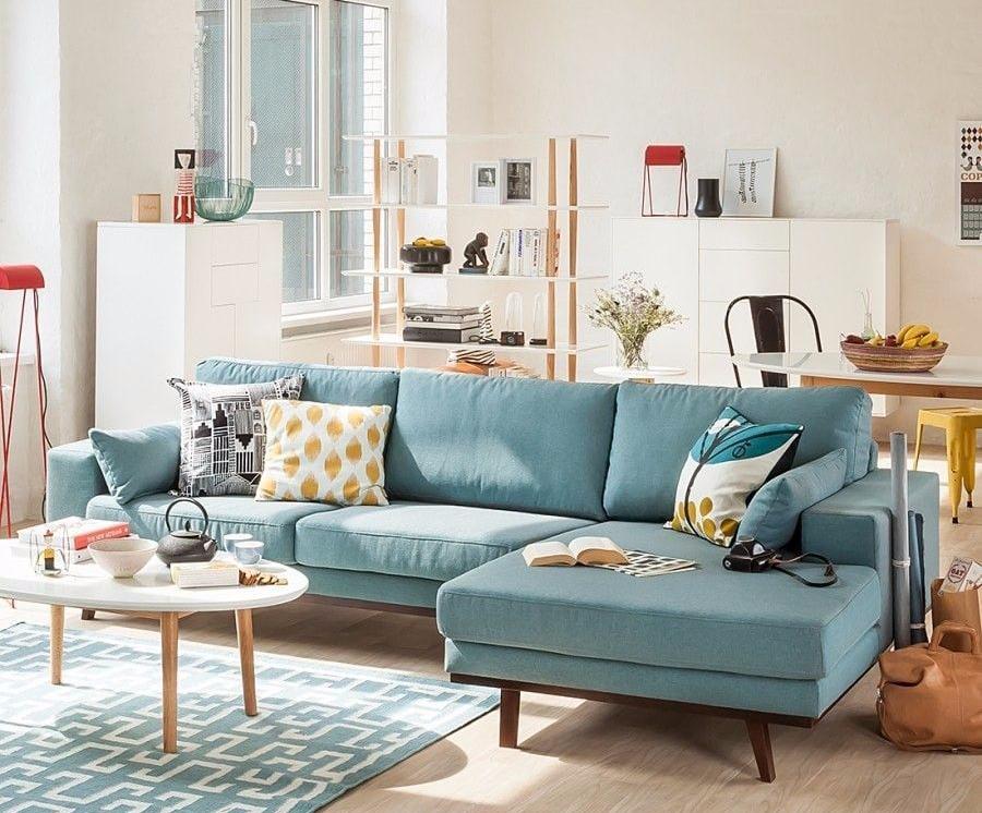 Sofa L Dekorasi Ruangan Tamu