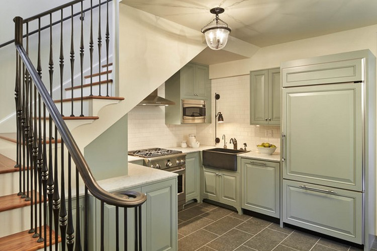 7 Model Kitchen Under Stairs, Home Solutions Mungilhouzz.com
