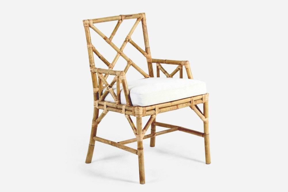 kursi bambu ramah lingkungan