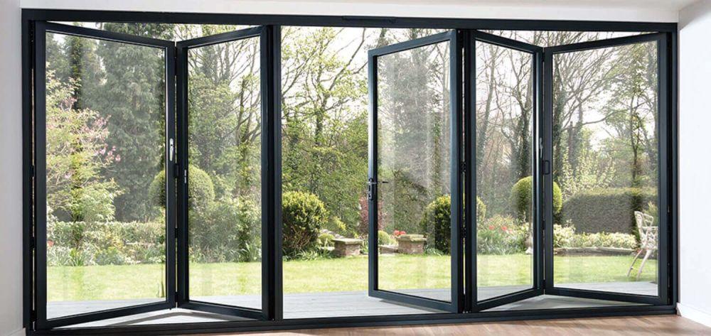 model jendela minimalis lipat bifold