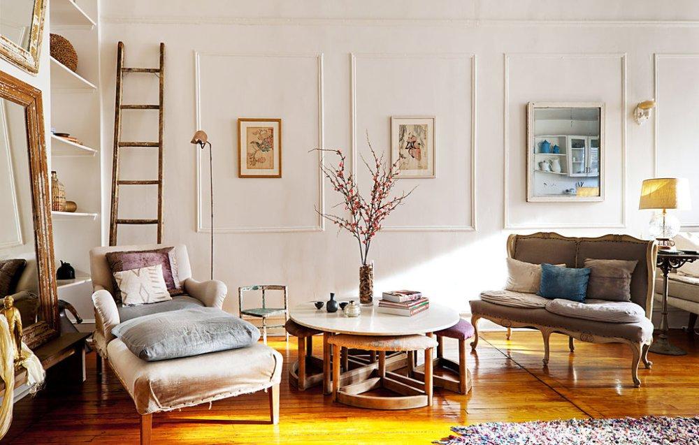 Interior Vintage yang Bergaya Klasik